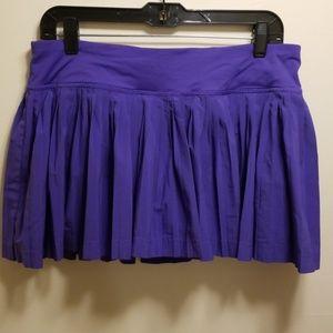 Lululemon purple pleated SKORT-size 8